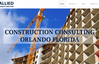 Consulting Website Design