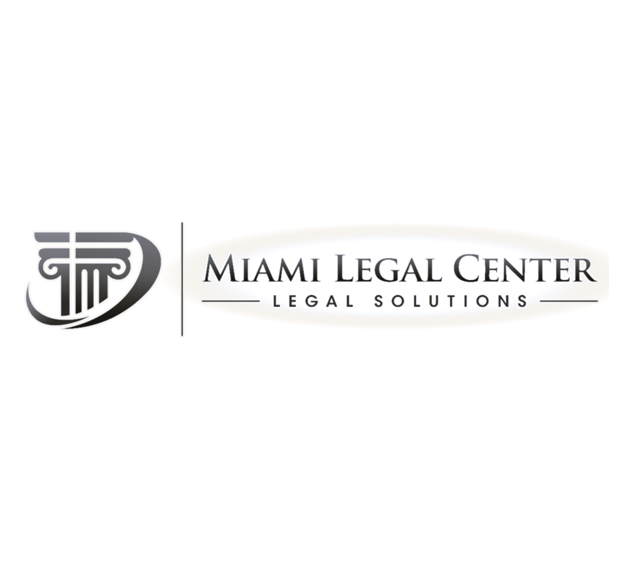 miami legal center logo attorney website design